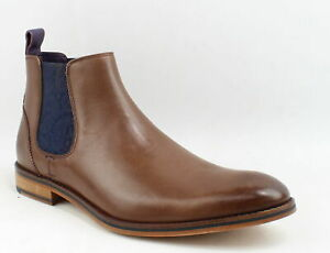 Ted-Baker-Mens-Camroon-4-Brown-Leather-Ankle-Boots-Size-12-1161869