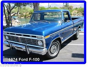 1974-Ford-F-100-Pickup-Truck-Refrigerator-Tool-Box-Magnet-Gift-Card-Insert
