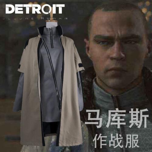 Devenir humains Markus Daily cosplay costume uniforme : H Hot Game Detroit