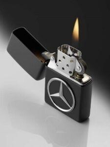 Original Mercedes Benz Zippo Briquet Noir Made IN USA