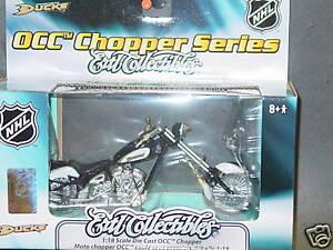 NHL-Die-Cast-OCC-Chopper-Anaheim-Mighty-Ducks-NEW