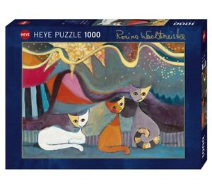 ROSINA WACHTMEISTER - YELLOW RIBBON - Heye Puzzle 29853 - 1000 Teile Pcs.
