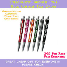 Promotional Personalised Laser Engraved Metal Ballpoint Touch Pen!