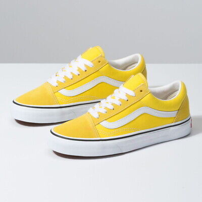 New Womens VANS COLOR THEORY OLD SKOOL YELLOW VN0A4BV5FSX US W 5.5 10.5 TAKSE | eBay