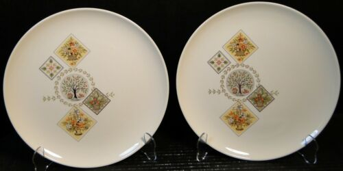 Taylor Smith Taylor Brocatelle Bread Plate 6 12 Ever Yours EXCELLENT