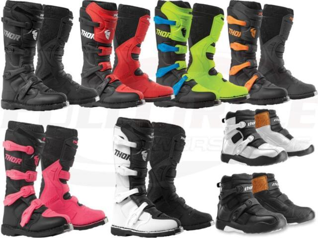 NEW Thor S4 Blitz CE Boots White motocross atv offroad Boot MX