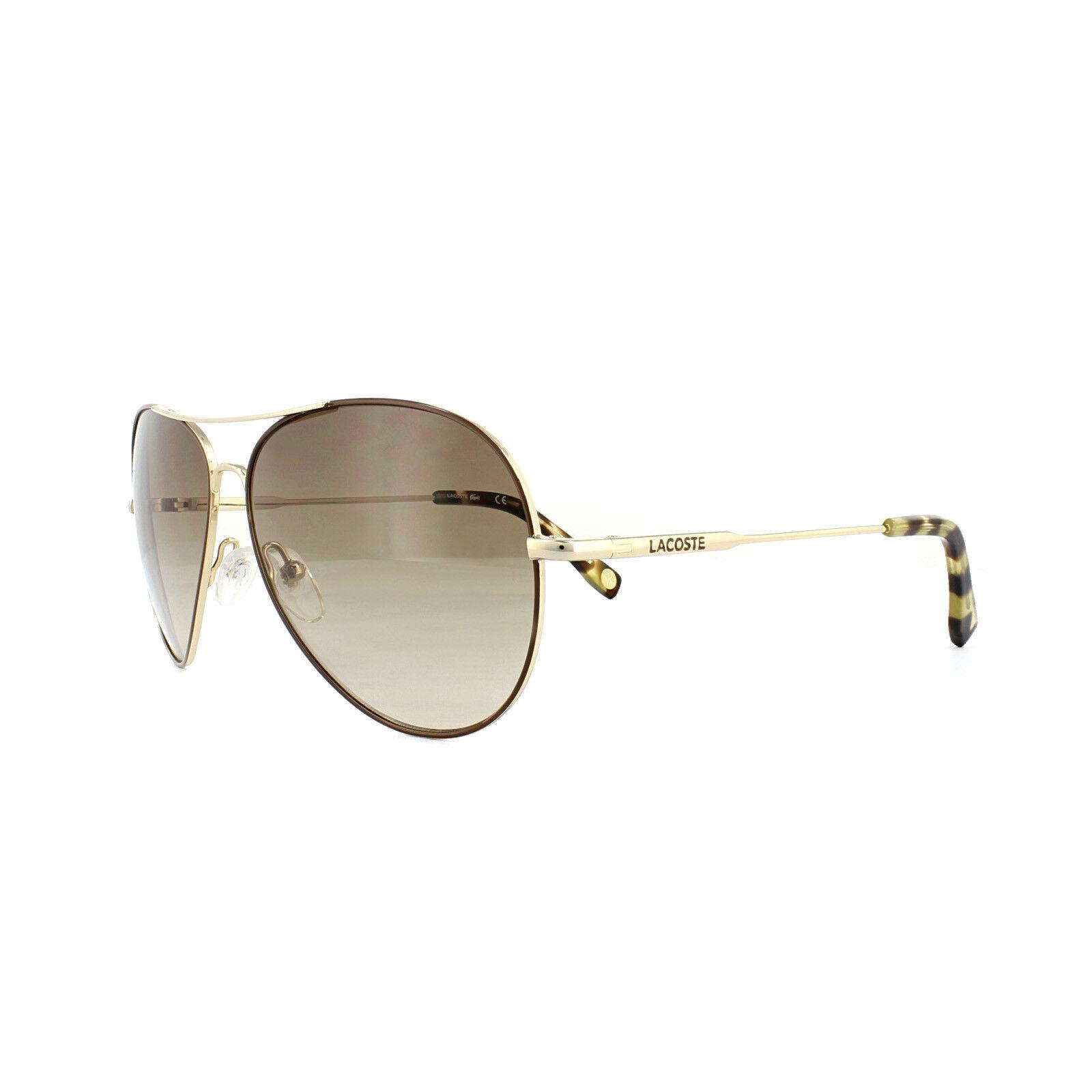 a2943a42d66 Lacoste Sunglasses L174s 714 Gold Brown Gradient