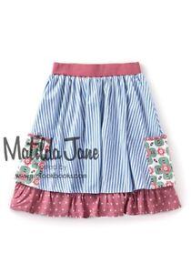 BRAND NEW MATILDA JANE DUTCH APPLE SKIRT ADULT WOMENS Sz M