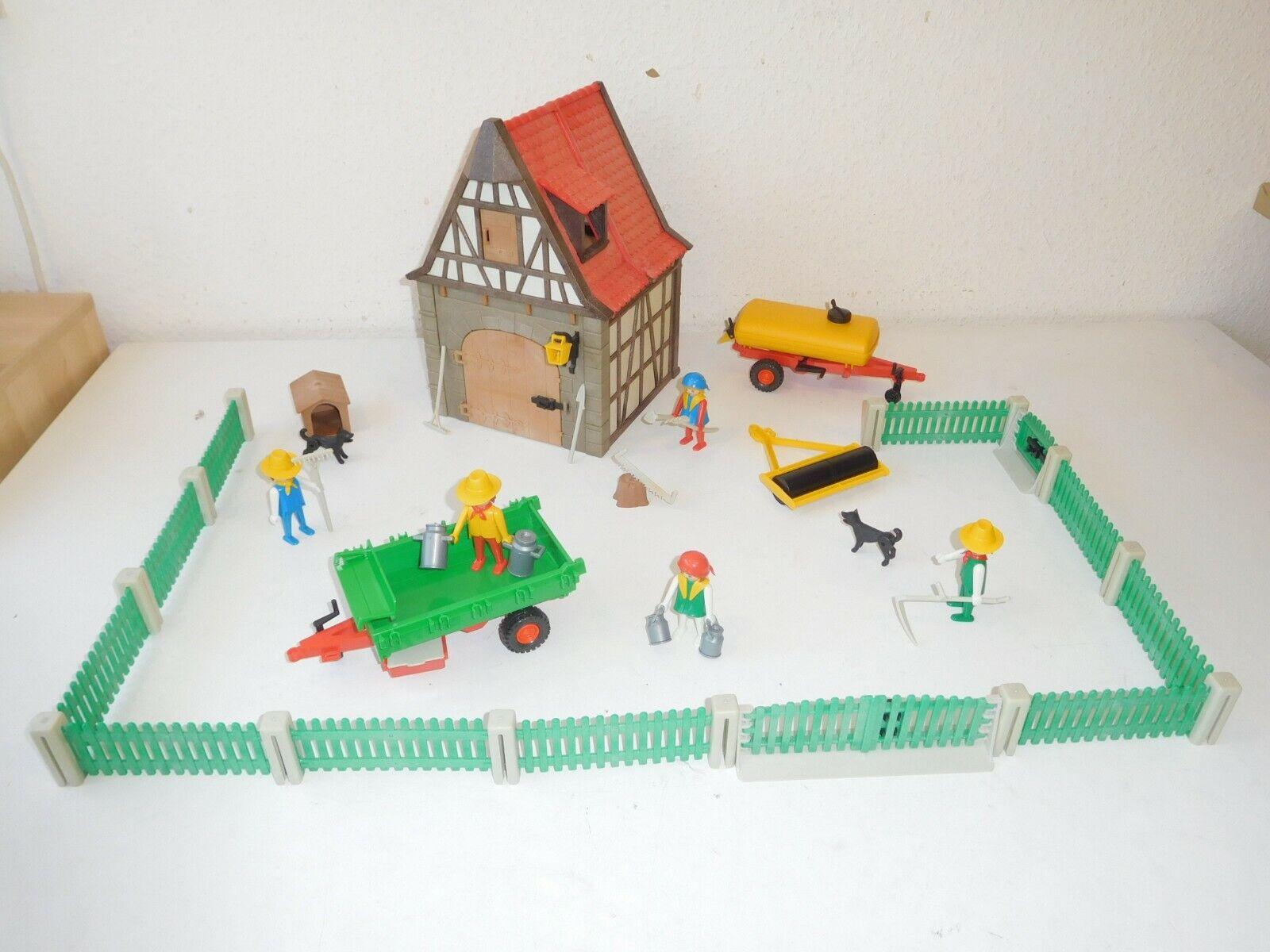 PLAYMOBIL Fattoria e parts from 3443 3502 3501 5302 5304  Farm Set  Felice shopping