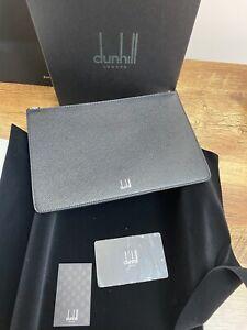 Dunhill Leather Cadogan Zip  Folio XS Black RRP £225