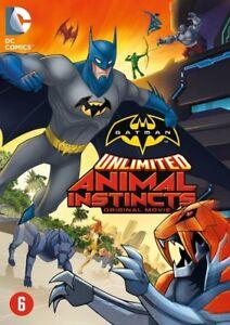BOX  DVD -  BATMAN UNLIMITED ANIMAL INSTINCTS (ANIMATION)  2015  -  NEW SEALED