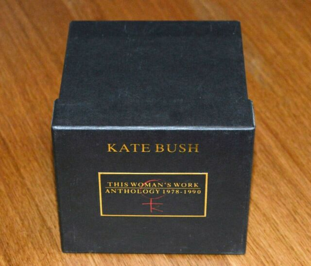 Kate Bush – This Woman's Work: Anthology 1978 - 1990 - Box, Booklet, Sticker