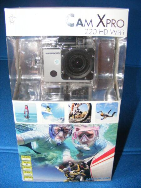 Action Cam Mediacom Sportcam Xpro 220 Hd Wi-fi Videocamere Full Hd Paracadutismo Vente De Fin D'AnnéE