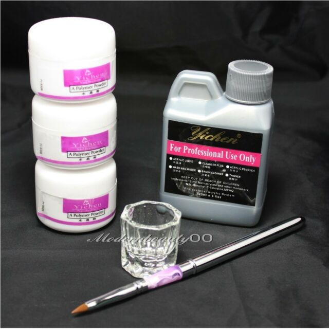 #46 Art Nail Kit Acrylic Liquid Powder Pen Dappen dish