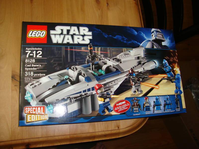 Estrella guerras  Lego 8128 Cad Banes Speeder MISB  edizione limitata a caldo