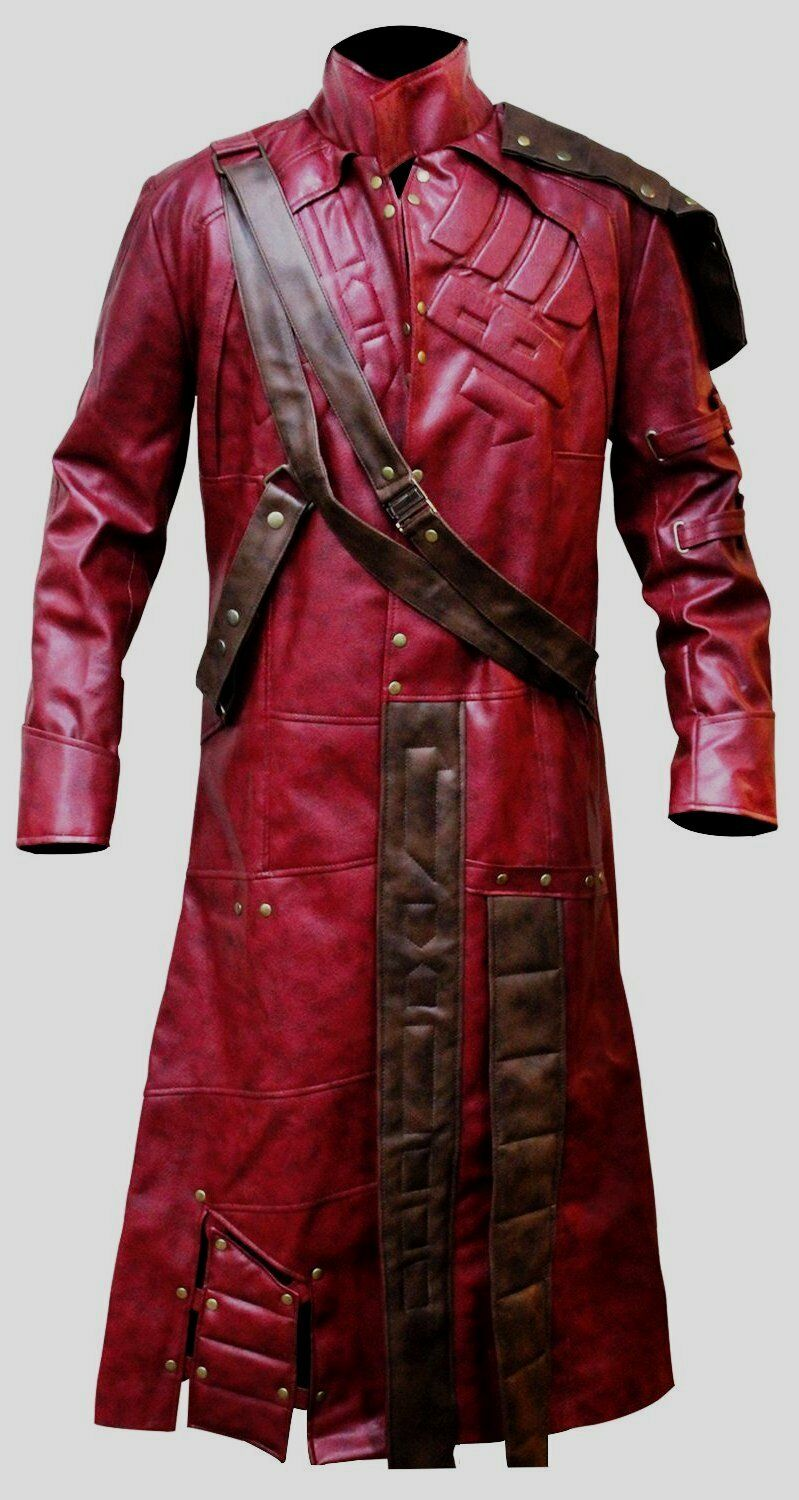 Guardians of the Galaxy Star Lord Chris Pratt Trench Coat Halloween Special