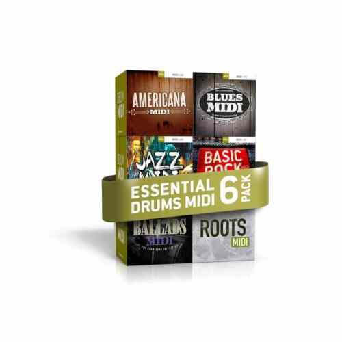 Toontrack Essential Drums MIDI 6 Pack Serial Download