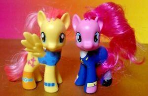 My-Little-Pony-Brushable-Wonderbolts-2-pack-Fluttershy-Pinkie-3-034-Figure-FIM-G4