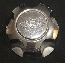 Ford YL24-1A096-DB Chrome Center Rim Hub Wheel Cap Set Police Interceptor P71