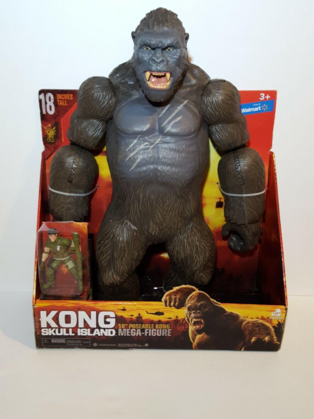 King Kong Skull Island 18  desechables figura de mega & Figura De Acción