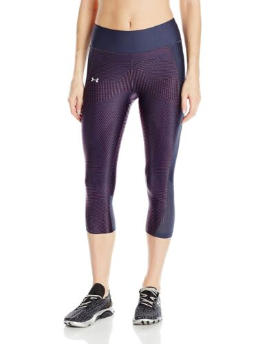 8 Colors Under Armour Women/'s Fly-By Printed Capri