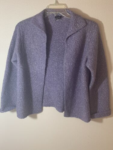 EILEEN FISHER Lilac Cardigan size S