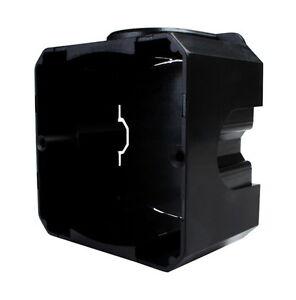 Prise-encastree-de-commutateur-d-039-encastrement-Noir-eu-80-wsmb-ab-5-pieces