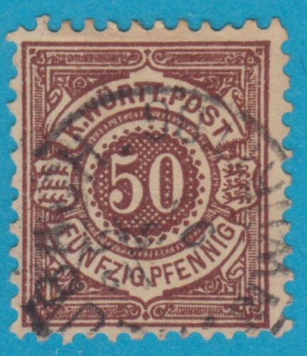 WURTTEMBERG 68a RED BROWN CV 65.00 VERY FINE NO FAULTS