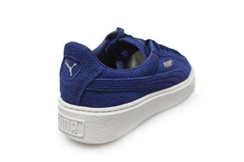blanco Zapatillas mujer azul gamuza para en Plataforma de 36222302 deportivas Puma CqvwnpYx