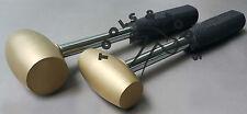 2 Pcs 1 & 2 LB Heavy Duty Brass Hammer Mallet Steel Handle Jewellery SilverSmith