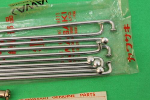 NOS Kawasaki F3 F4 Front Outer Spokes PART# 41028-012 10