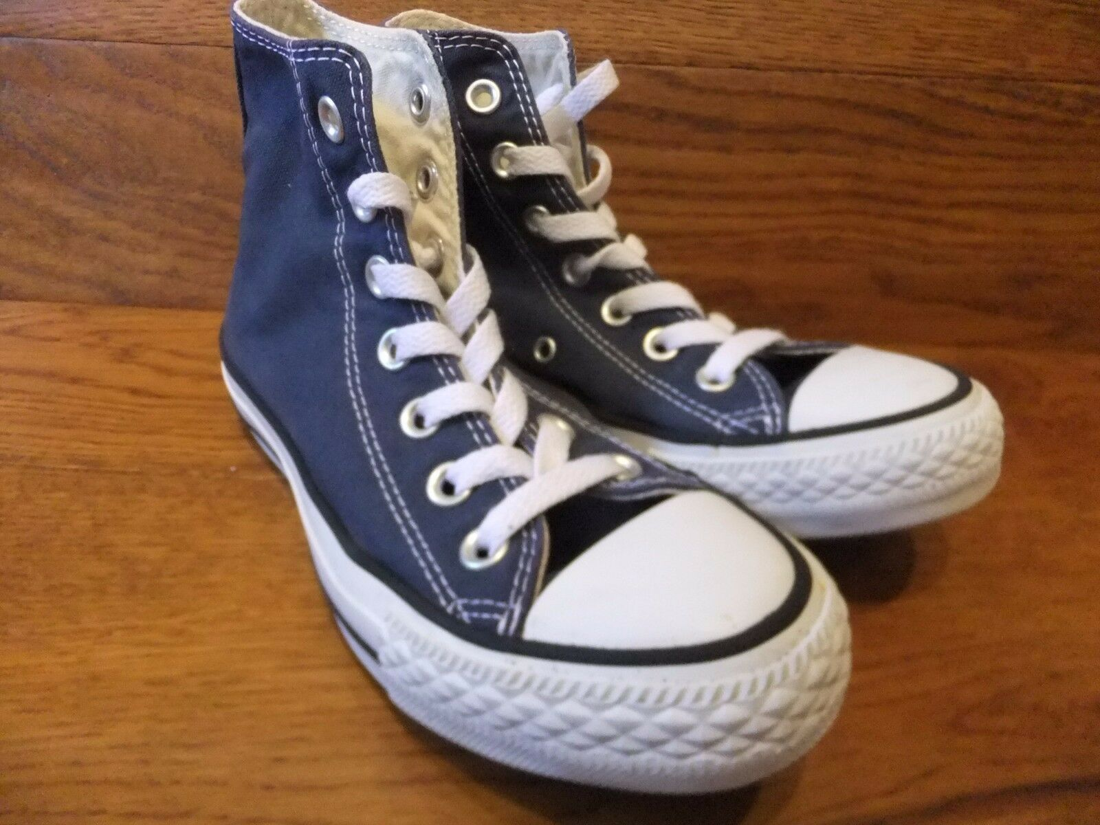 Converse CT All  Star Navy Canvas Hi Top  All Trainers Size 5c9240