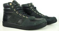 MARC JACOBS Herren High Sneaker Boots Leder Designer Schuhe Black Gr.43 NEU