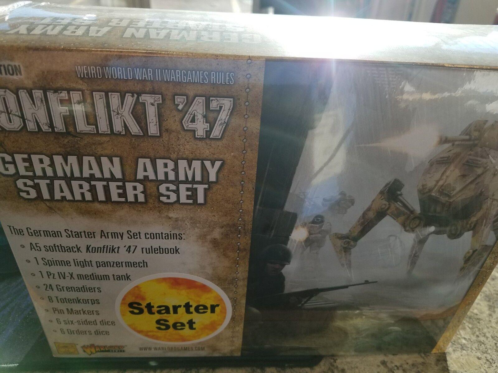 Armée Allehommede Konflikt'47 Starter Set  Warlord Games Modèles NEUF  les magasins de détail