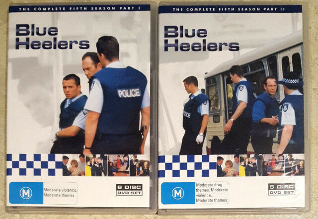 Blue Heelers - The Complete Fifth (5) Season (11 Disc Set) DVD (Region 4)