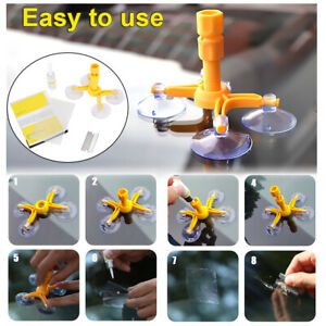 Auto Windshield Repair Tool For Chip Crack Phone Screen Car Glass ...