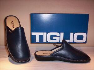 Ciabatte-pantofole-chiuse-Tiglio-uomo-slippers-men-invernali-da-casa-blu-new-40
