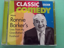 More Ronnie Barker Lines From My Grandfather's Forehead 2CDs BBC Classic Comedy