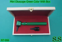 Mini Otoscope Green Color Diagnostic Set With Box, Nt-906