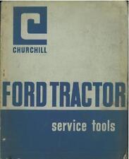 FORD TRACTOR SERVICE TOOLS MANUAL - SUPER, DEXTA, MAJOR, 2000 3000 4000 5000