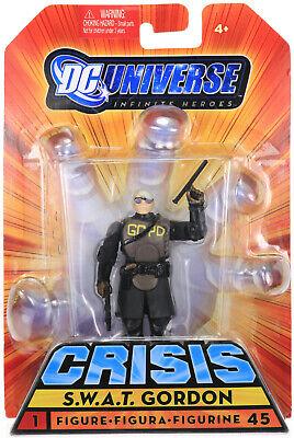 DC Universe Infinite Heroes Crisis Series #1 Commissioner Gordon /& SWAT Team MIB