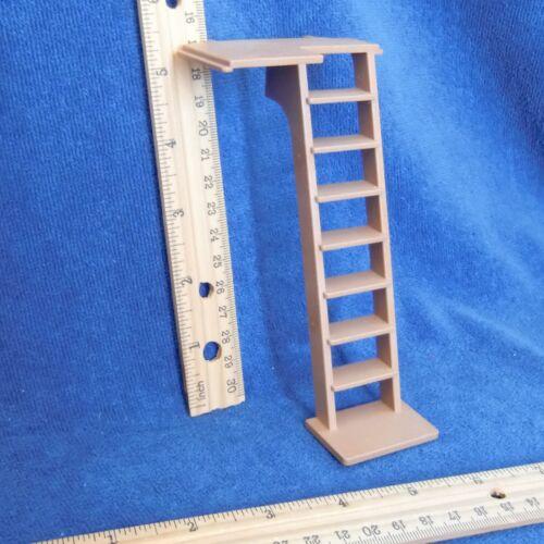 Playmobil Castle Wood Stairs Platform Vtg 3667 Medieval Knights Brown 30 07 0780