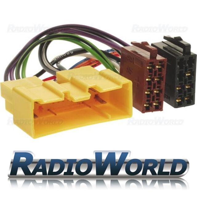 Mazda 3, 5, 6, Coche Radio Estéreo MX-5, RX-8 ISO Cable Adaptador Arnés Cable del telar