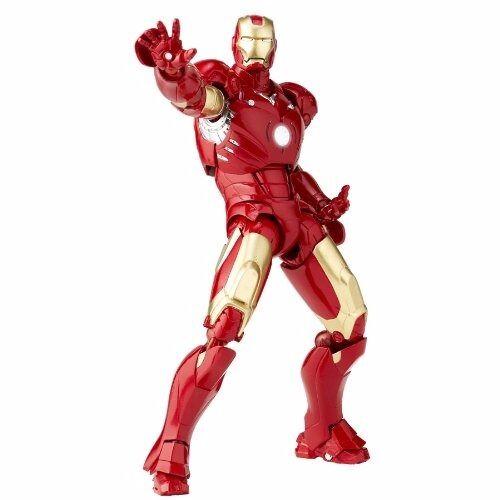 Tokusatsu Revoltech No.036 Iron Man Iron Man Marke III Figur Kaiyodo Neu