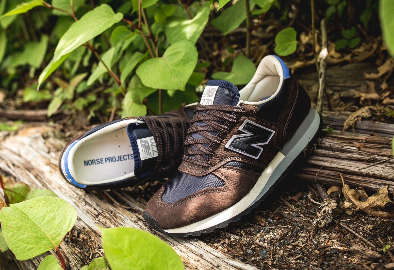 New Balance x Norse Projects M770NP  Lucem Hafnia  sz 7 Made in ENGLAND