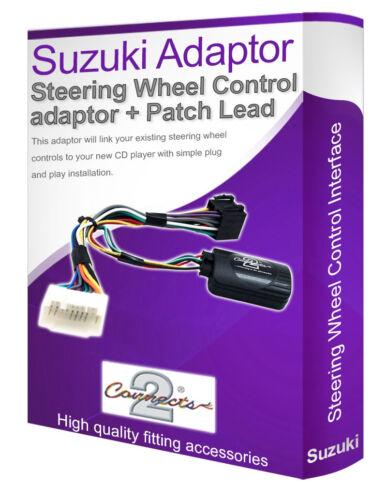 conectar el volante controles de tallo Adaptador Estéreo Suzuki Grand Vitara