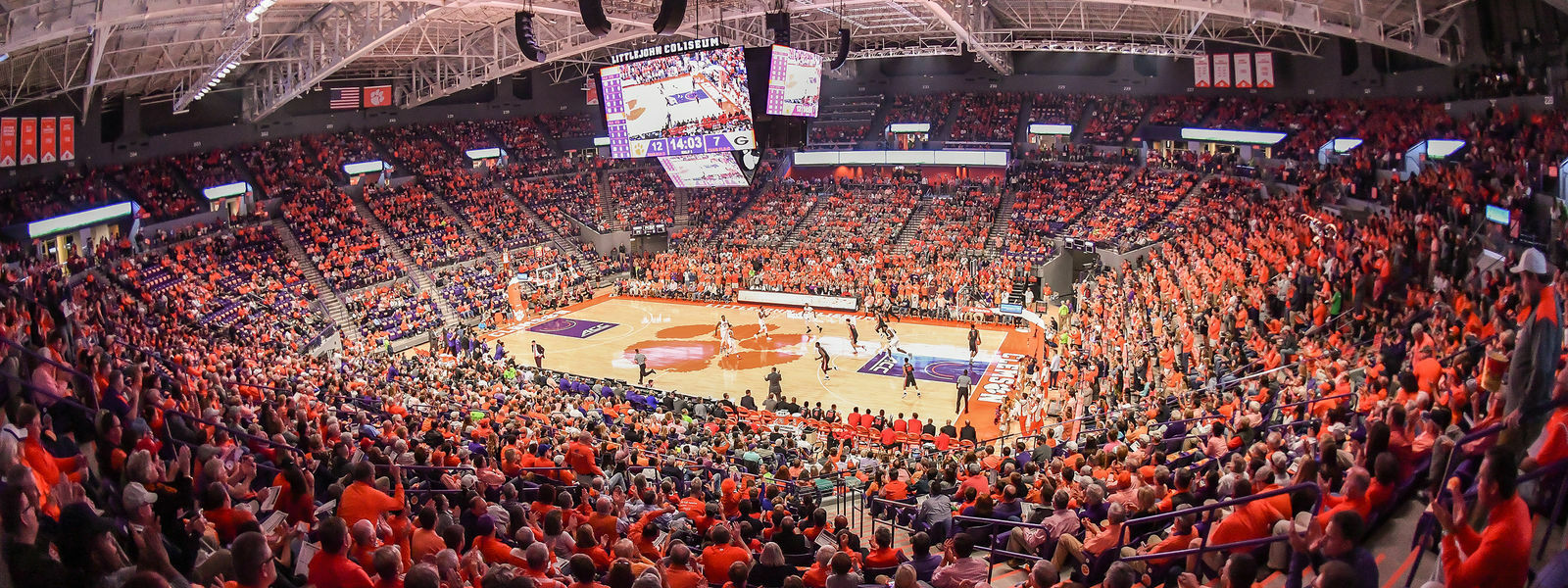 Davidson Wildcats at Clemson Lady Tigers Women's Basketball