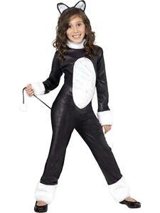 Kinder Kostum Coole Katze Kostum Kinder Outfit Von Smiffys Neu Ebay