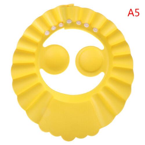 1Pc Adjustable Baby Kids Shampoo Bathing Shower Visor Cap Hat for Baby Ca~JP