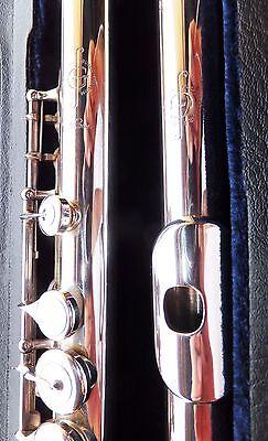 Flutemakers Guild London Flöte Flute Produkte Werden Ohne EinschräNkungen Verkauft rib- Vollsilber Querflöte Silberflöte